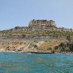 l'hotel vue de la mer (plage)