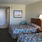 Clean comfortable rooms