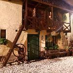Keszi Panzió, old building part in the garden