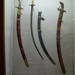 Swords of Ottomon Sultans in Top Kapi Palace