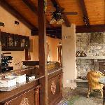 Upstairs coffee bar.  Wish there was coffee!