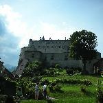 giardino nel castello