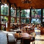 Interior of the Gatlinburger Grill