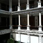 escalera - gran hotel de merida