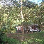 The nearest cabin