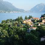 The view towards Lecco.