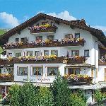 Garni Hotel Alpina, Serfaus, Austria in summer