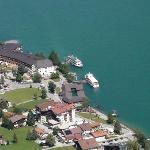 Bateaux sur le lac d'Achensee
