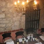zaal voor wijnproeverij