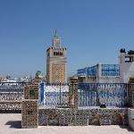 Dachterrasse - Blick auf die Große Moschee