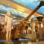 Queen of the Nile restaurant at Emperors Palace, South Africa, Gauteng, Johannesburg