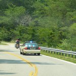 Watch your speed OR this could be you on the Tail of the Dragon