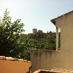 rooftop view of Alhambra