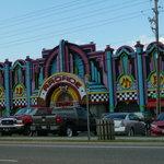Exterior of Arcade at Rockin' Raceway 2011