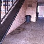Filthy Walkway area