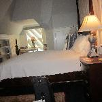 The main bedroom Blue Skye Suite