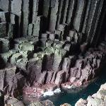 Fingals Cave on Staffa a short boat ride away