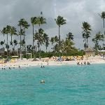 Vue Esmeralda la plage