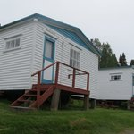 Some of the cabins at Trinity Cabins