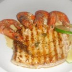 Yellowfin and Prawn