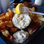 the lunch shrimp basket