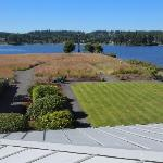 Balcony, view out front to Hood Canal