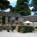 Patio and Picnic Areas of Other Cottages on Bolehill Farm