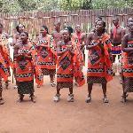 Swaziland dance group
