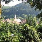la quiétude de l'Alsace traditionnelle
