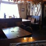 The Bar of The Harp Inn