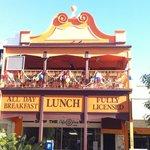 the balcony restaurant, upstairs 287 flinders street