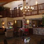 Beautiful and inviting lobby