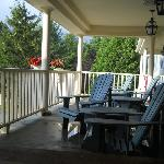 Porch at the Country Inn