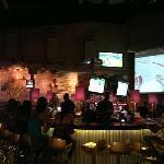 Main bar at Usain Bolt's Tracks and Records