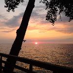 Sunset over Lake Erie-July 2011