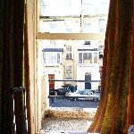 Sicht aus dem Fenster