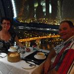 Dinner on Singapore Flyer