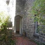 Archway Entrance to the Tunnel that leads to the Herb Garden Suite
