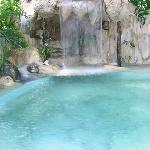 waterfall pool