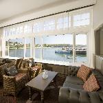 Refurbished Sea View Lounge at the Coast & Country Ship & Castle Hotel