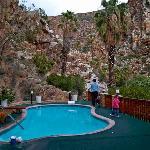 Top pool, near hotel