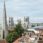 View of York Minster.