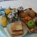 Leider jeden Tag das selbe Frühstück