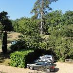 parking du domaine de Joreau