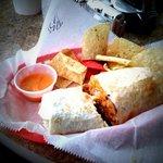 Steak Border Burrito. Just awesome.