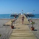 The calm and breezy jetty, LUSH!