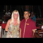 hussain in athima restaurant