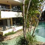 garden & pool area