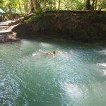 waterfall in Samal