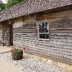 The school house and living quarters